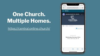 ONLINE CHURCH - WEDNESDAY | CENTRAL CHURCH OF CHRIST
