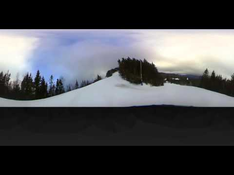 Top of Loon Mountain run down via Exodus