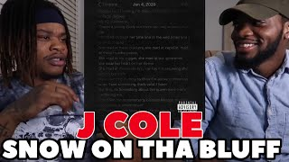 J. Cole - Snow On Tha Bluff (Official Audio) - REVIEW