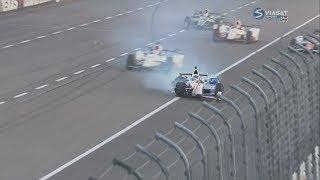 IndyCar Series 2017. Texas Motor Speedway. Hélio Castroneves Hard Crash