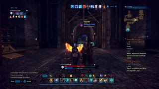 Playing Tera with the love of my life CyberWolf309 :3