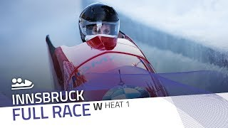 Innsbruck | BMW IBSF World Cup 2018/2019 - Women's Bobsleigh Heat 1 | IBSF Official
