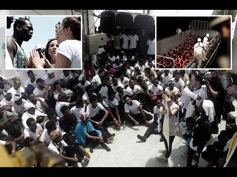 Italy's Matteo Salvini says turning away migrant boat is just the beginning as r escued 629