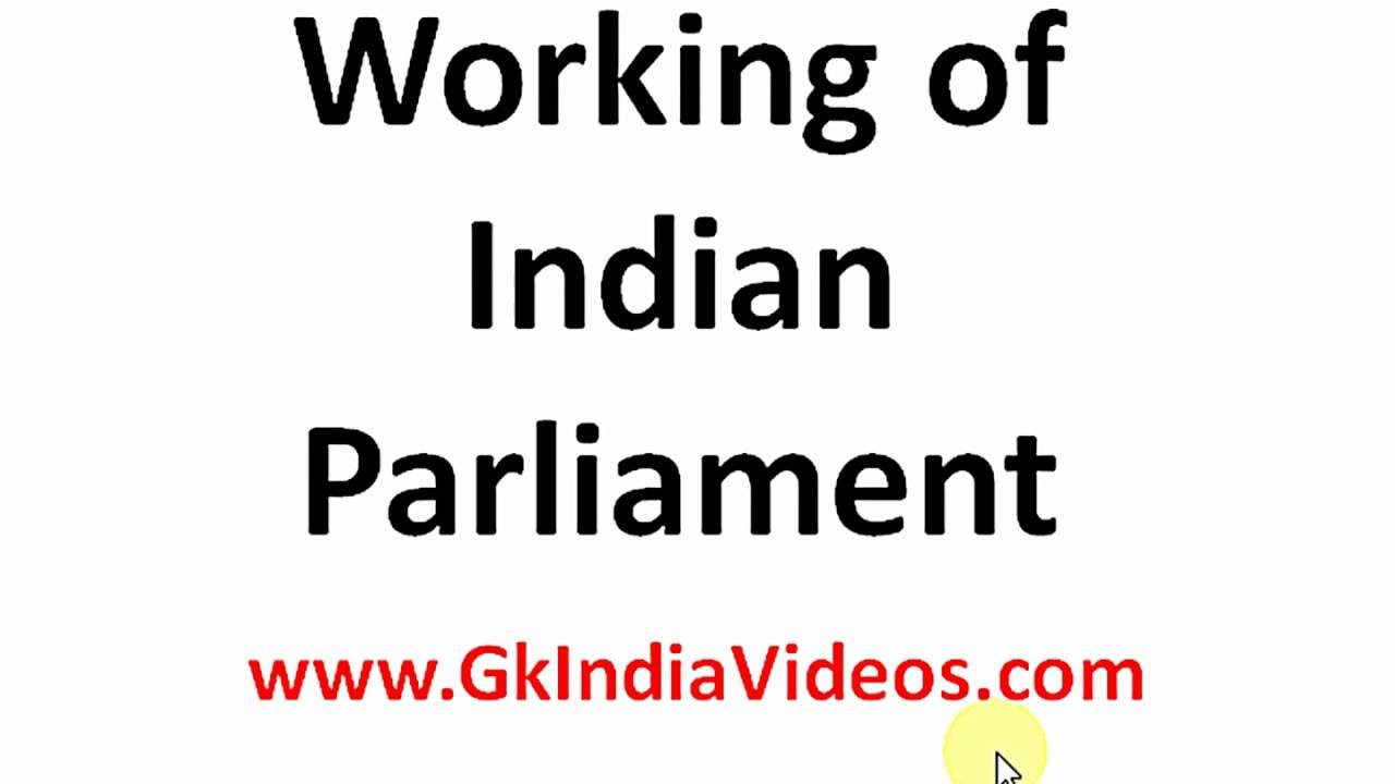 working of parliamentary democracy in indian The second half of the indian parliament's budget session resumed on monday and was adjourned in minutes the speakers of both houses of parliament - lower lok sabha and upper rajya sabha - tried to calm the raging, screaming and sloganeering by members but failed.