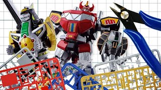 These Power Rangers Model Kits Are Awesome - Up At Noon!