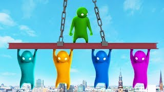 WHO WILL HOLD ON THE LONGEST? (The Pals play Gang Beasts)