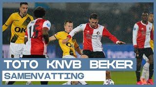 Feyenoord en NAC treffen elkaar in doelpuntrijke halve finale van de TOTO KNVB Beker