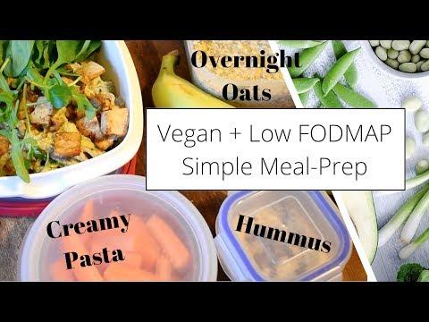 Simple Meal Prep To Start The Week �� Low FODMAP + Vegan