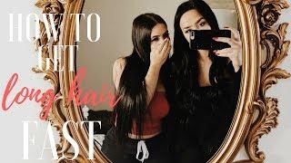HOW TO GET LONG HAIR FAST | SAV & KAT