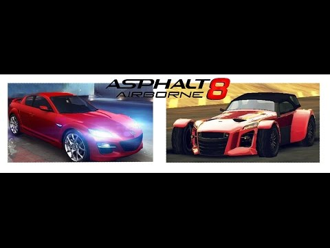 Asphalt 8 Baby Killers EP6.5 - Who can knock down 100 cars in 100 minutes? (W12s Time)