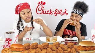 CHICK-FIL-A MUKBANG!!! (EXTREMELY HILARIOUS)
