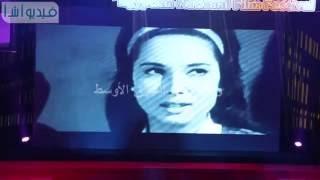 بالفيديو :  افتتاح  المهرجان القومى للسينما براحلى السينما المصرية