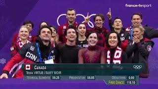 JO 2018 - Le Canada champion olympique de patinage artistique en compétition par équipes