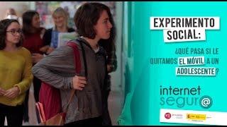 Experimento social: ¿Qué pasa si le quitamos el móvil a un adolescente?