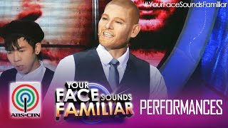 Your Face Sounds Familiar: Jay R as Justin Timberlake -
