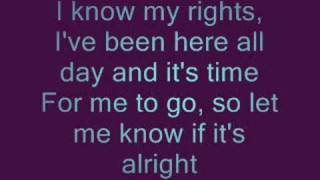 Jenny Was A Friend Of Mine lyrics - The Killers