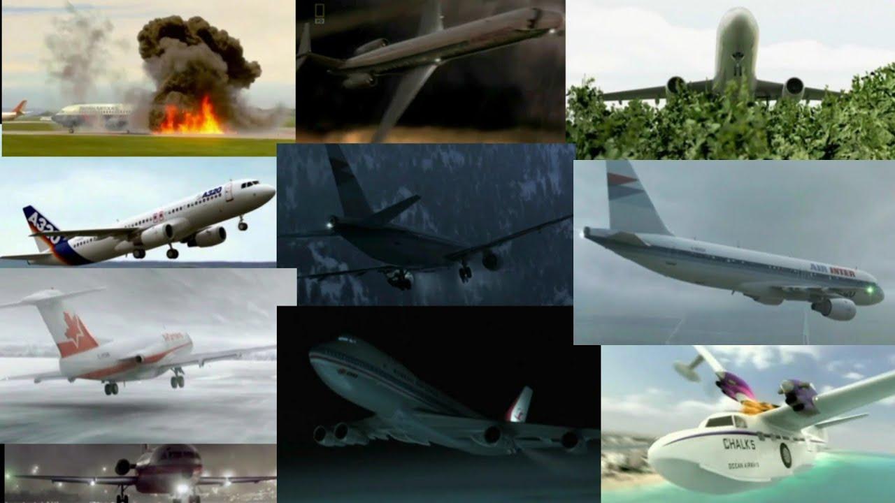 Download Air Crash Investigation Season 9 - All Crash/Landing Animations