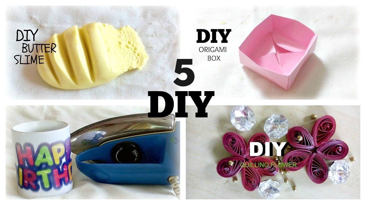 5 Minute Crafts To Do When Youre BORED Quick And Easy DIY Ideas Amazing You Need Try