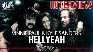 HELLYEAH - Vinnie Paul & Kyle Sanders interview @Linea Rock 2017 by Barbara Caserta