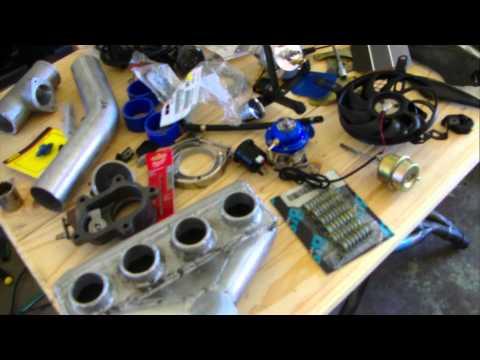 Suzuki GSXR-1000 Turbo Kit - 40 Shot Nitrous NOS Custom Black GSXR
