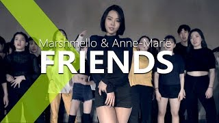 Marshmello & Anne-Marie - FRIENDS / HAZEL Choreography .