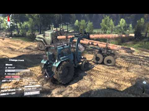 Подметально-уборочный прицеп к трактору МТЗ-82