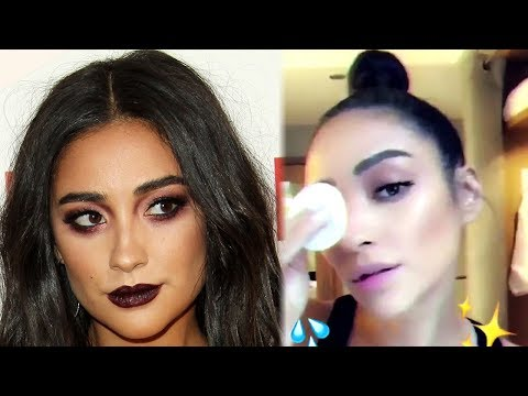 Shay Mitchell DRAGGED By  For Posting FAKE Makeup Remover Ad