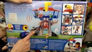 Большой набор Щенячий патруль Спасательная станция. Обзор игрушки