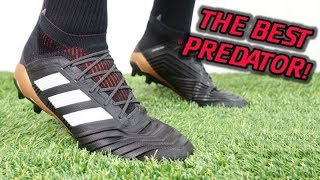 THE BEST NEW ADIDAS CLEATS!? - Adidas Predator 18.1 (Skystalker Pack) - Review + On Feet