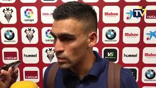 Dani Romera tras Albacete-Cádiz (17-09-18)