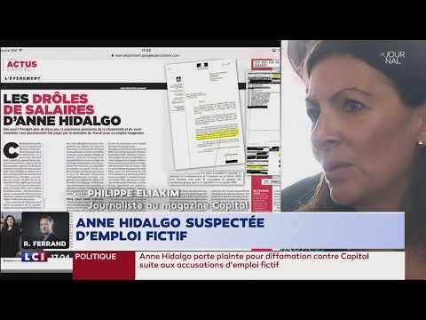 Emploi fictif d'Anne Hidalgo : les accusations du magazine Capital