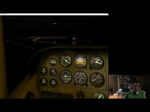 X-Plane 10 Fun Flying C-172 and IFR Cirrus Jet Flight Livestream Replay