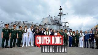 Mẫu Hạm ghé Đà Nẵng, Mỹ quyết liệt với Trung Quốc ở Biển Đông