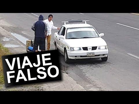 ENGAÑANDO A TAXISTAS (BROMA PESADA)