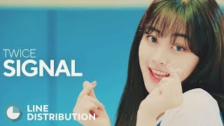 Gambar cover TWICE - Signal (Line Distribution)
