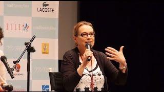 フランス映画祭2014に合わせて来日した、 ジュリー・ベルトゥチェリ監督...