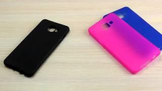 ОБЗОР: Оригинальный Силиконовый Чехол-Накладка для Samsung Galaxy A5 (A510) 2016 года