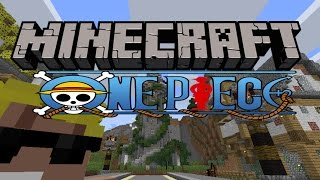 Minecraft Map วันพีช ผจญภัยสู่สุดยอดสมบัติเเห่งขุมทองคำ