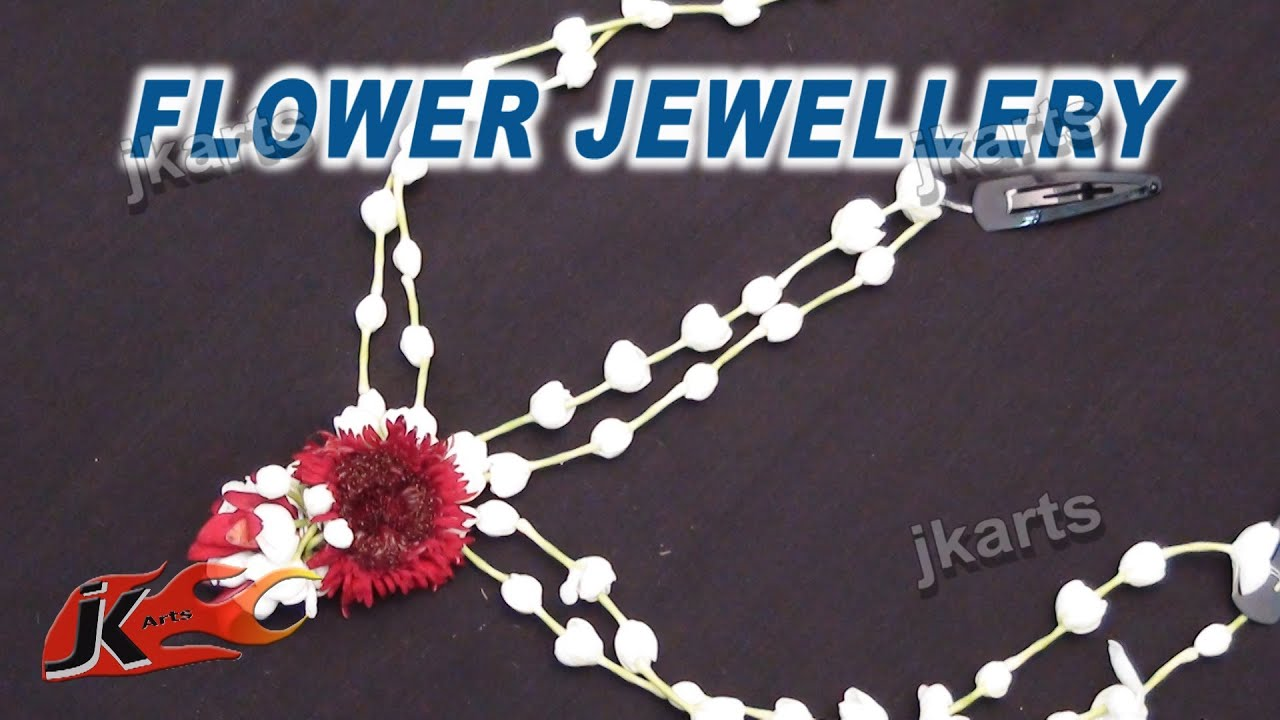 DIY Fresh Flower Wedding hair accessories | Maang Tikkas | How to ...