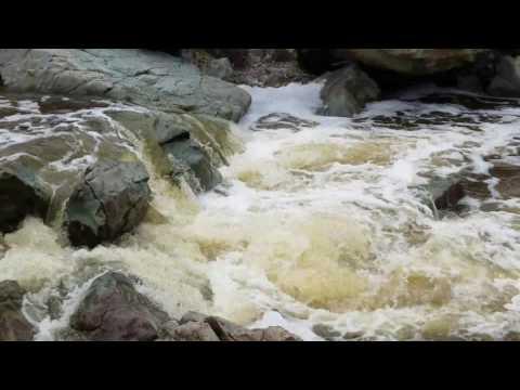 Penasquito Canyon Creek Waterfall.