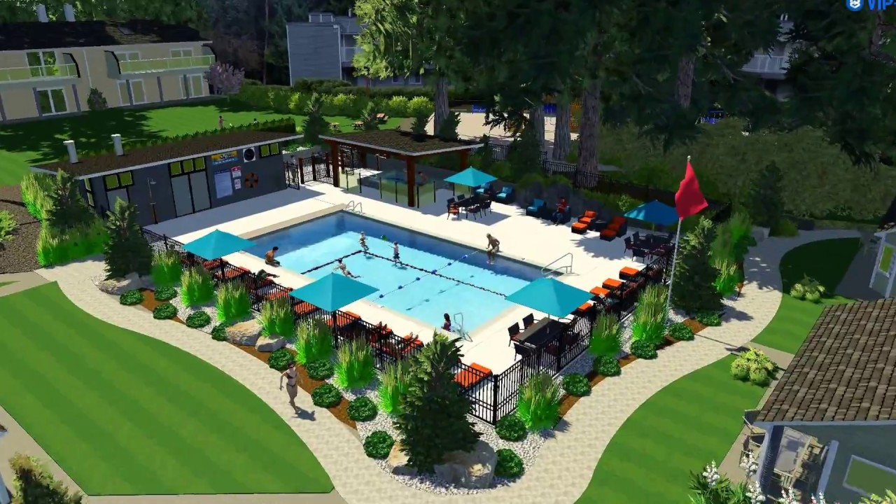Ocean Trails Resort Parksville Bc Proposed Pool Spa