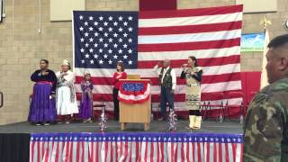 NAVAJO - National Anthem Star Spangled Banner - Callie Bennett