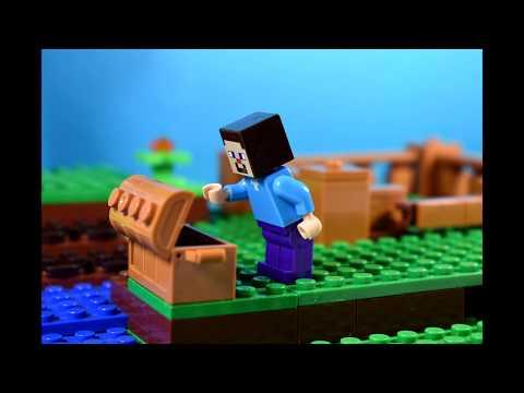 Lego Minecraft Animacja - Jak Steve Poznał Owcę?