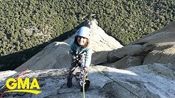 10-year-old becomes youngest to climb Yosemite's El Capitan