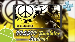 How to Setting Metal Gear Solid: Peace Walker PPSSPP Android (FULL SPEED + FPS) LG V20