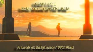 Breath of The Wild - CEMU 1.9.1 - Xalphenos FPS Mod Benchmarks! - 5K Textures