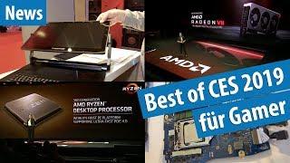 Nächster Ryzen schlägt i9-9900K, neue Gaming-Notebooks, Radeon VII (7) & mehr auf der CES 2019