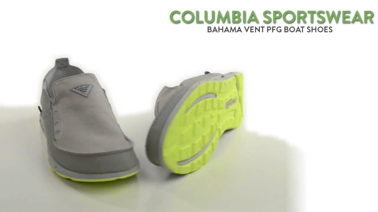 f0e10f69673f Columbia Sportswear Bahama Vent PFG Boat Shoes - Leather-Canvas ...