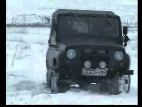 BMW E39 snow Drift