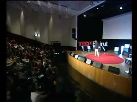 TEDxBeirut - Ziad Abichaker - A garbage love story